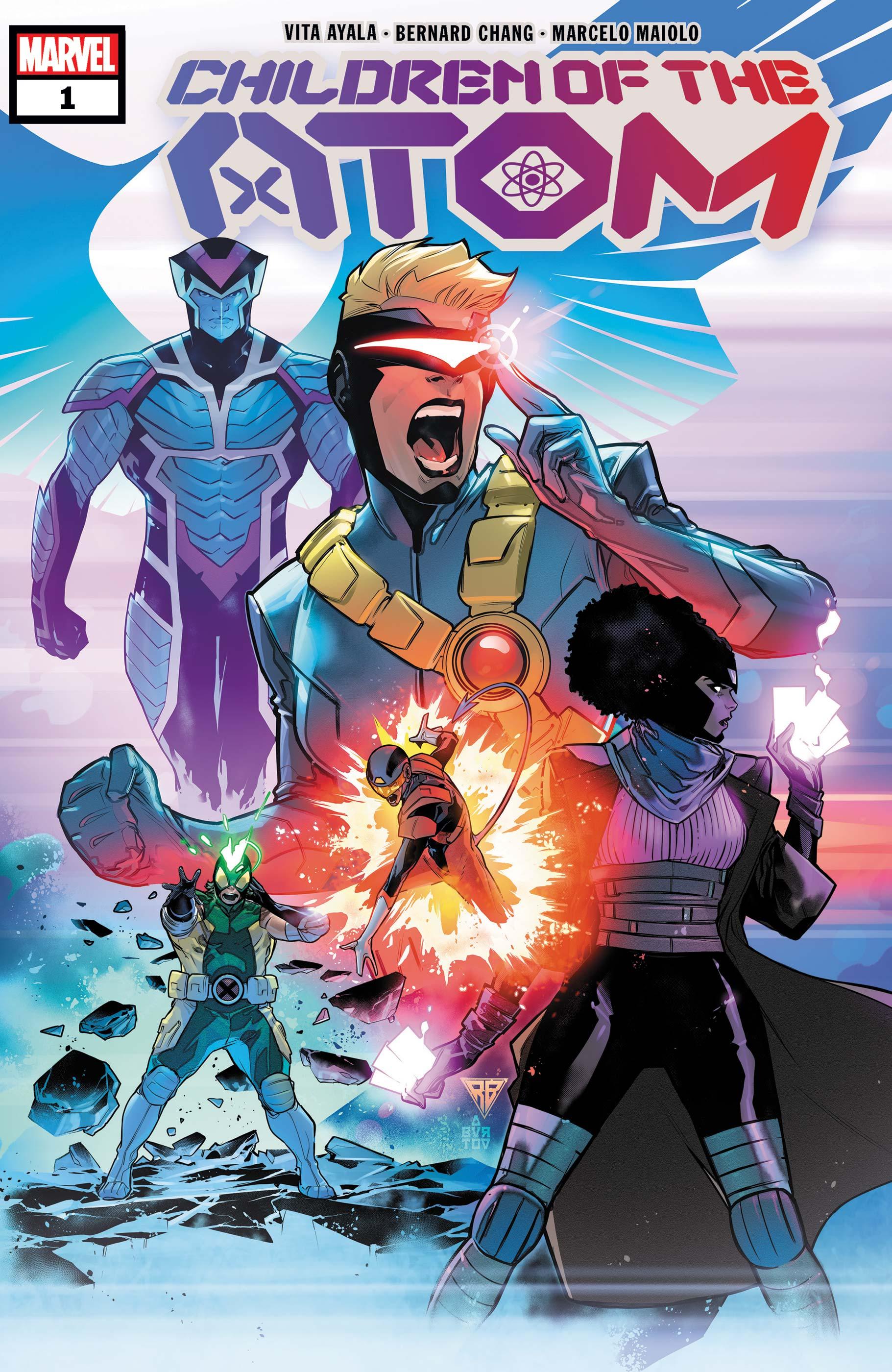 Children of the Atom (2021) #1