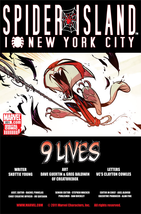 Spider-Island: I Love New York City (2011) #1