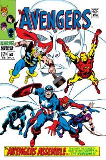 Avengers (1963) #58