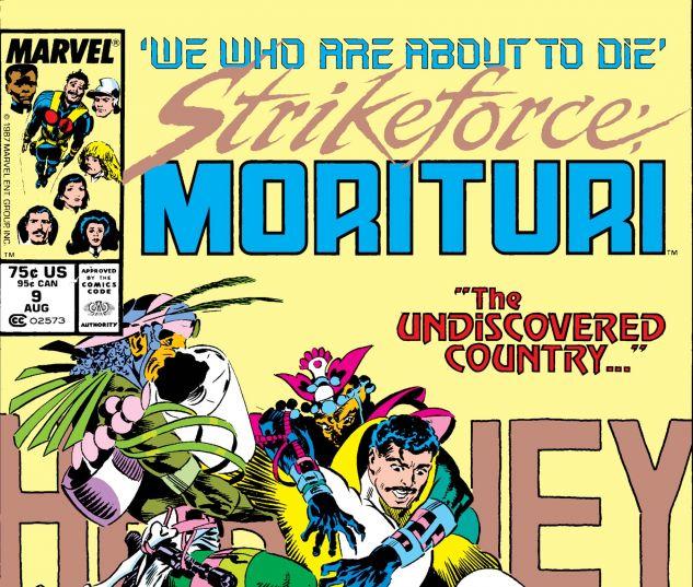 Strikeforce: Morituri (1986) # 9