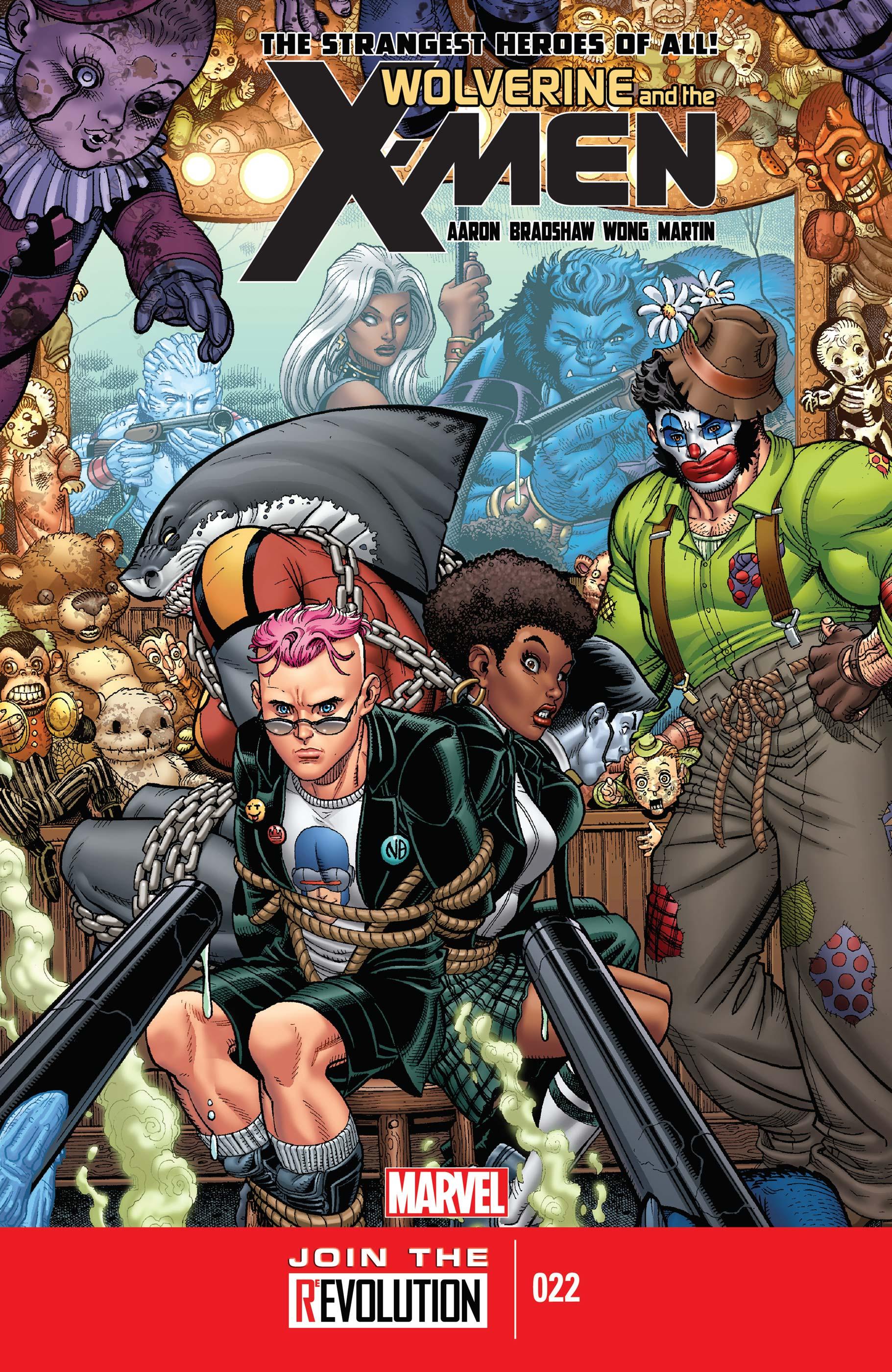 Wolverine & the X-Men (2011) #22