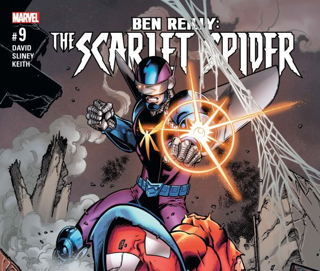 Cover for BEN REILLY: SCARLET SPIDER 9