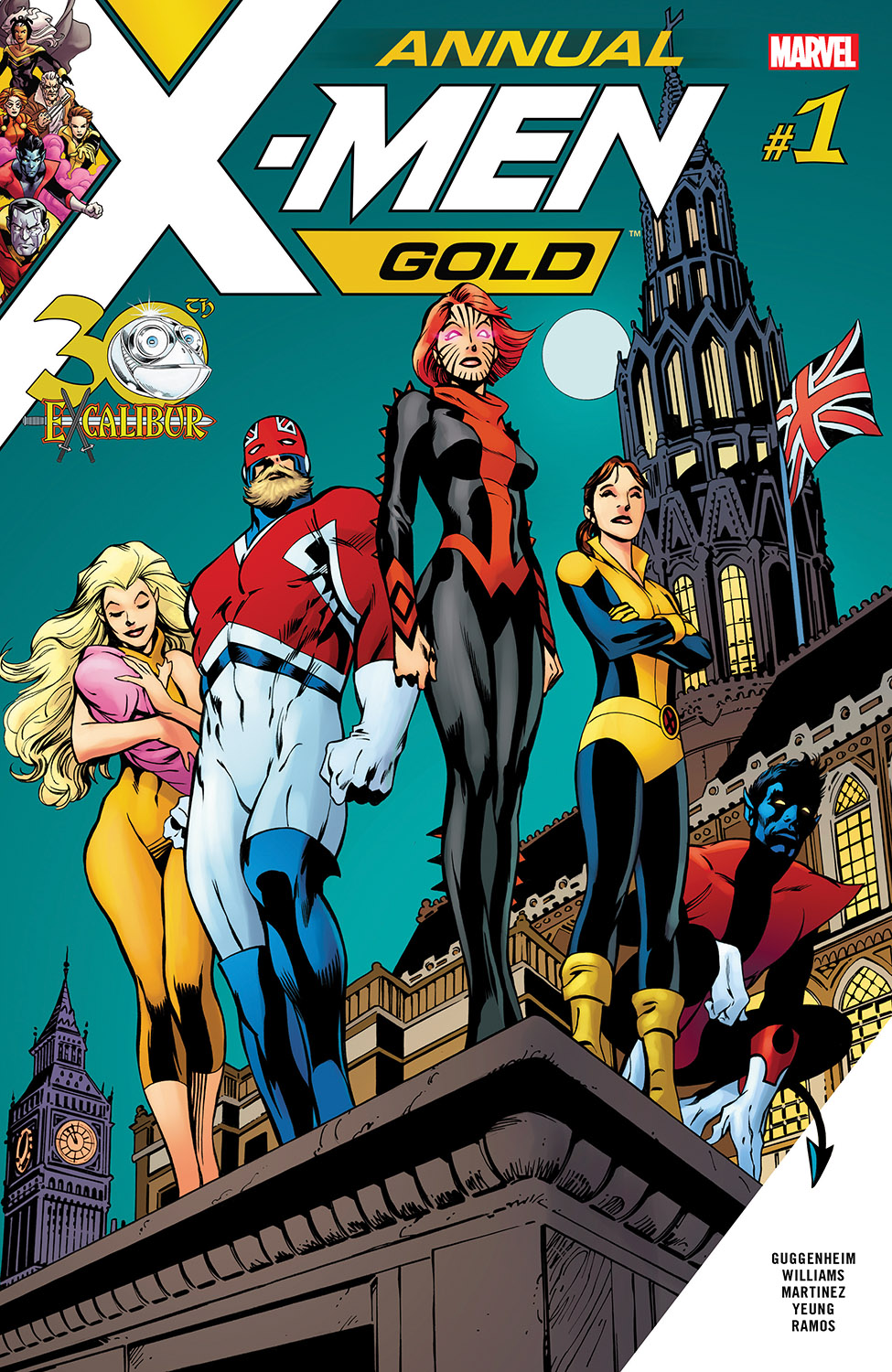 X-Men Gold Annual (2018) #1