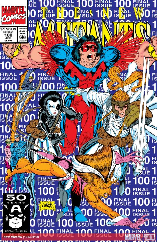New Mutants (1983) #100