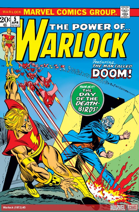 Warlock (1972) #5