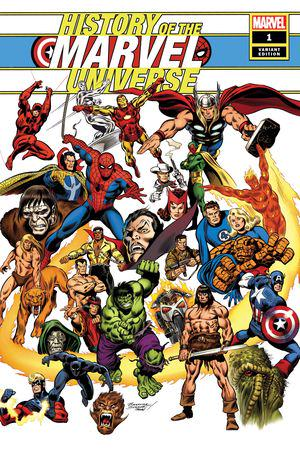 History of the Marvel Universe (2019) #1 (Variant)