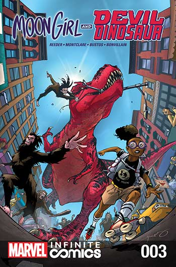 Moon Girl and Devil Dinosaur Infinite Comic (2019) #3