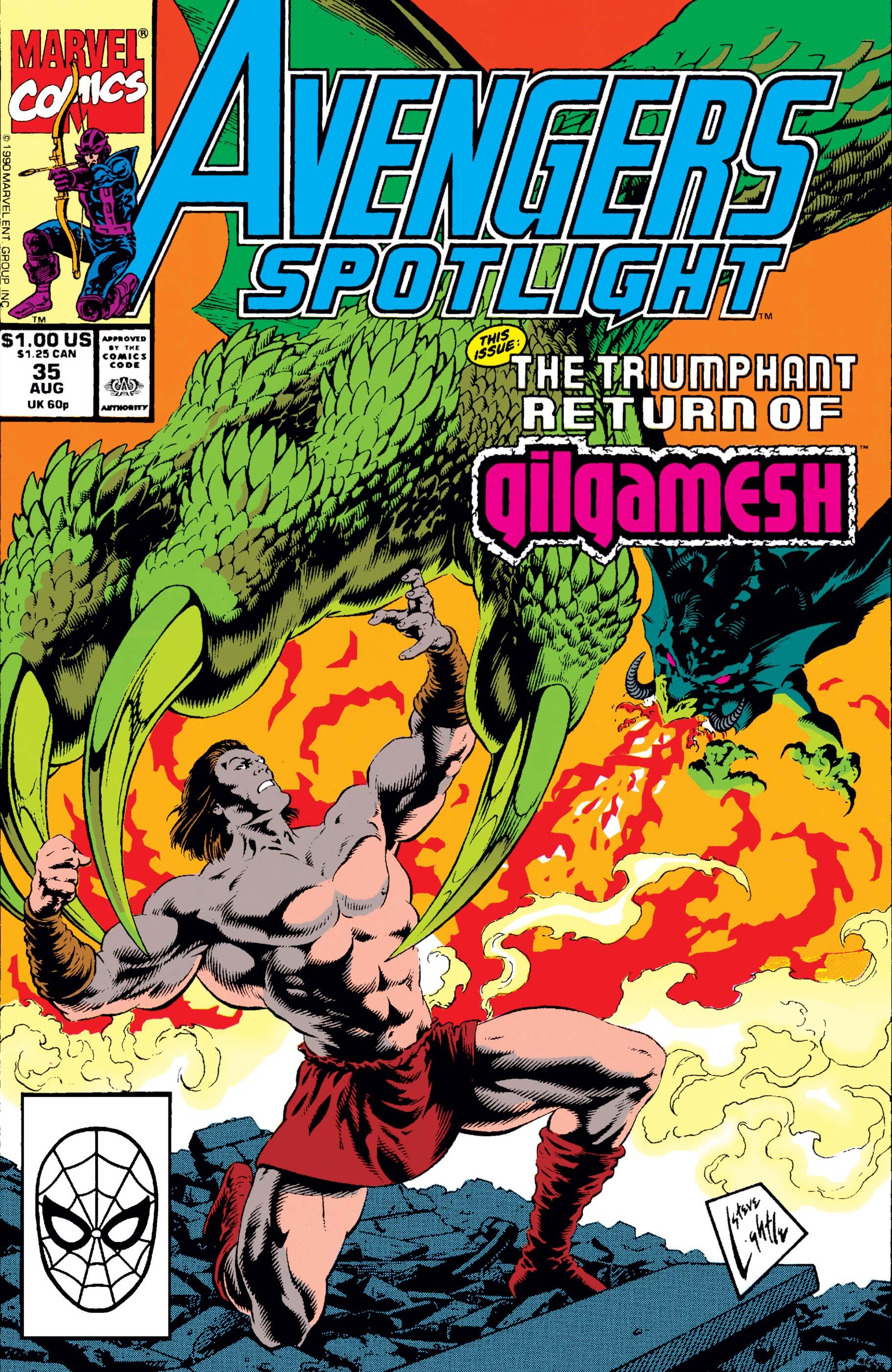 Avengers Spotlight (1989) #35