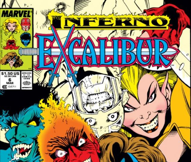 EXCALIBUR #6 COVER
