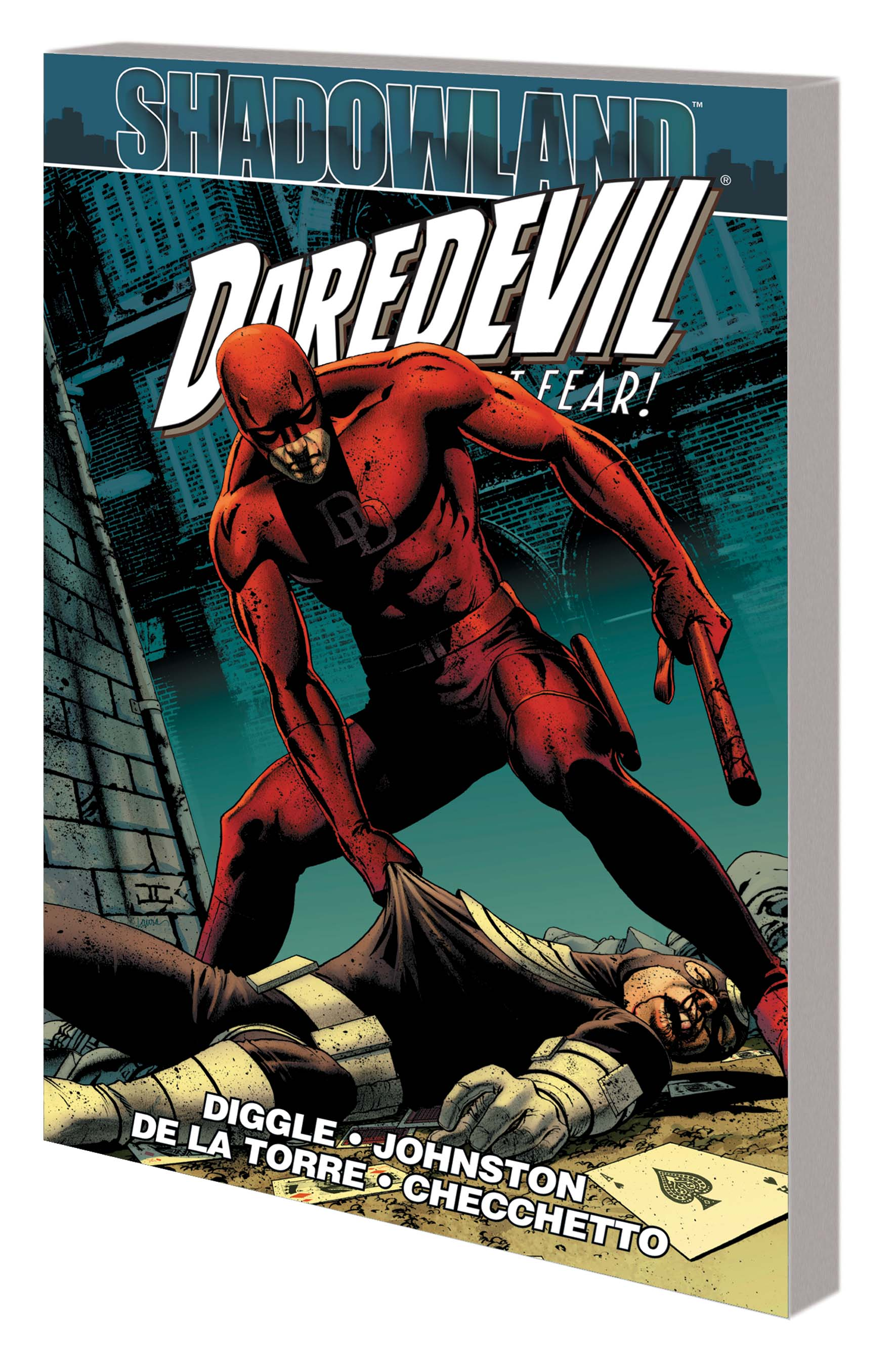 SHADOWLAND: DAREDEVIL TPB (Trade Paperback)