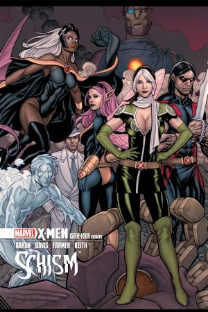X-Men: Schism (2011) #4 (Cho Variant)