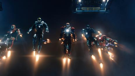 Tony Stark's latest armors from Marvel's Iron Man 3