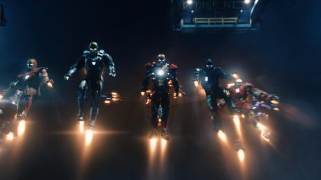 Tony Stark's latest armors from Marvel's Iron Man 3