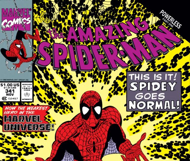 Amazing Spider-Man (1963) #341 Cover