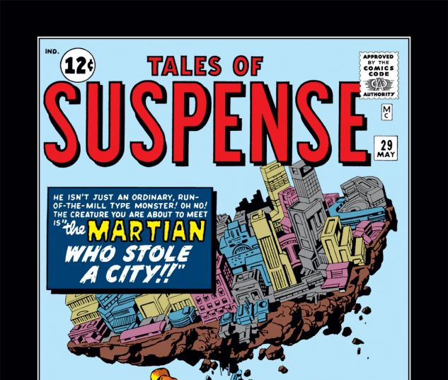 Tales of Suspense (1959) #29 Cover