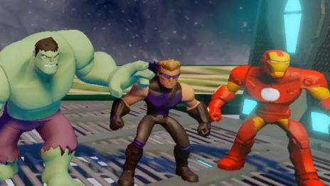 Disney Infinity: Marvel Super Heroes - Avengers Play Set Trailer
