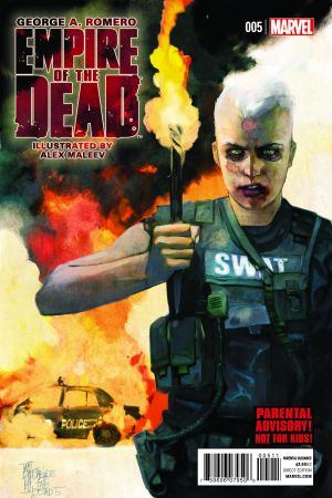 George Romero's Empire of the Dead: Act One #5