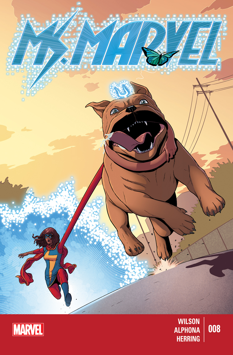 Ms. Marvel (2014) #8