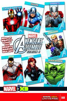 Marvel Universe Avengers Assemble Season Two (2014) #8