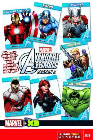 Marvel Universe Avengers Assemble Season Two (2014) #8