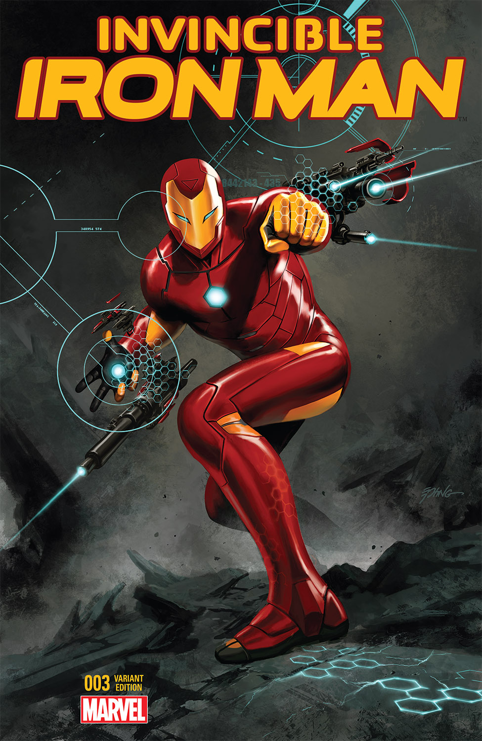 Invincible Iron Man (2015) #3 (Epting Variant)
