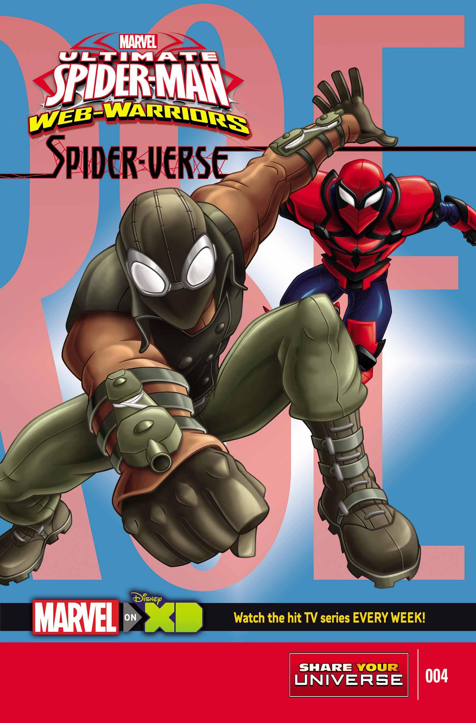 Ultimate Spider-Man Spider-Verse (2015) #4