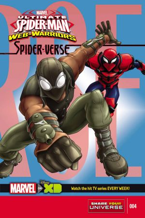 Marvel Universe Ultimate Spider-Man Spider-Verse #4