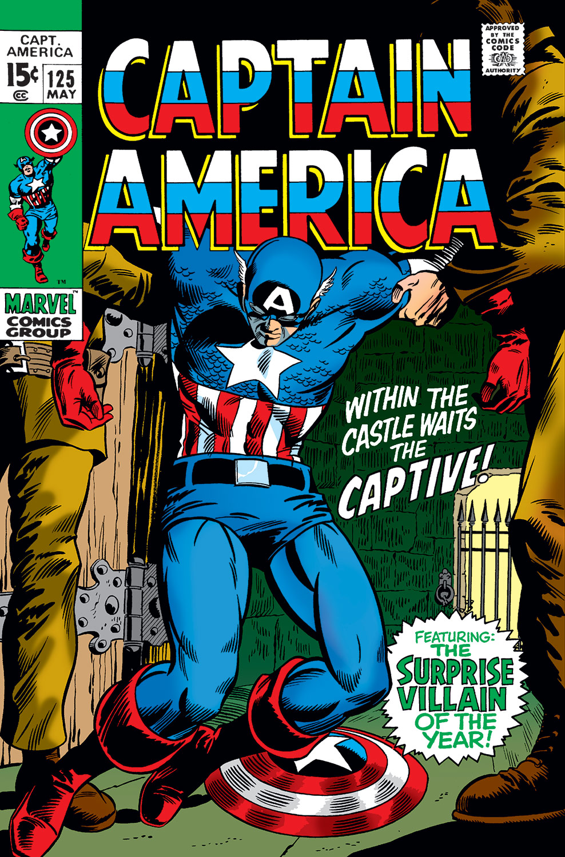 Captain America (1968) #125