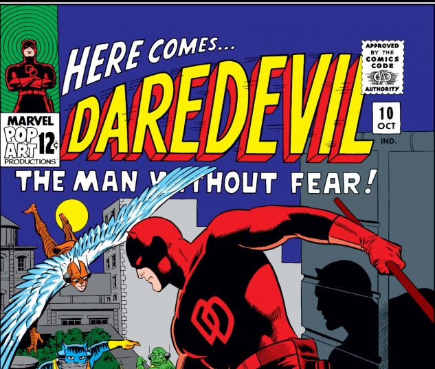 DAREDEVIL (1964) #10 Cover