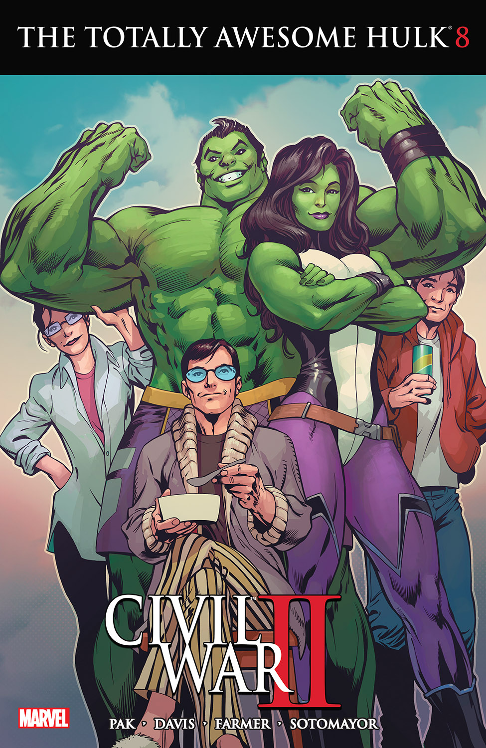 The Totally Awesome Hulk (2015) #8