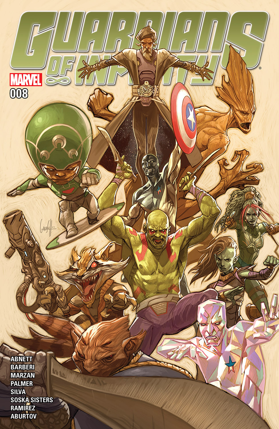 Guardians of Infinity (2015) #8