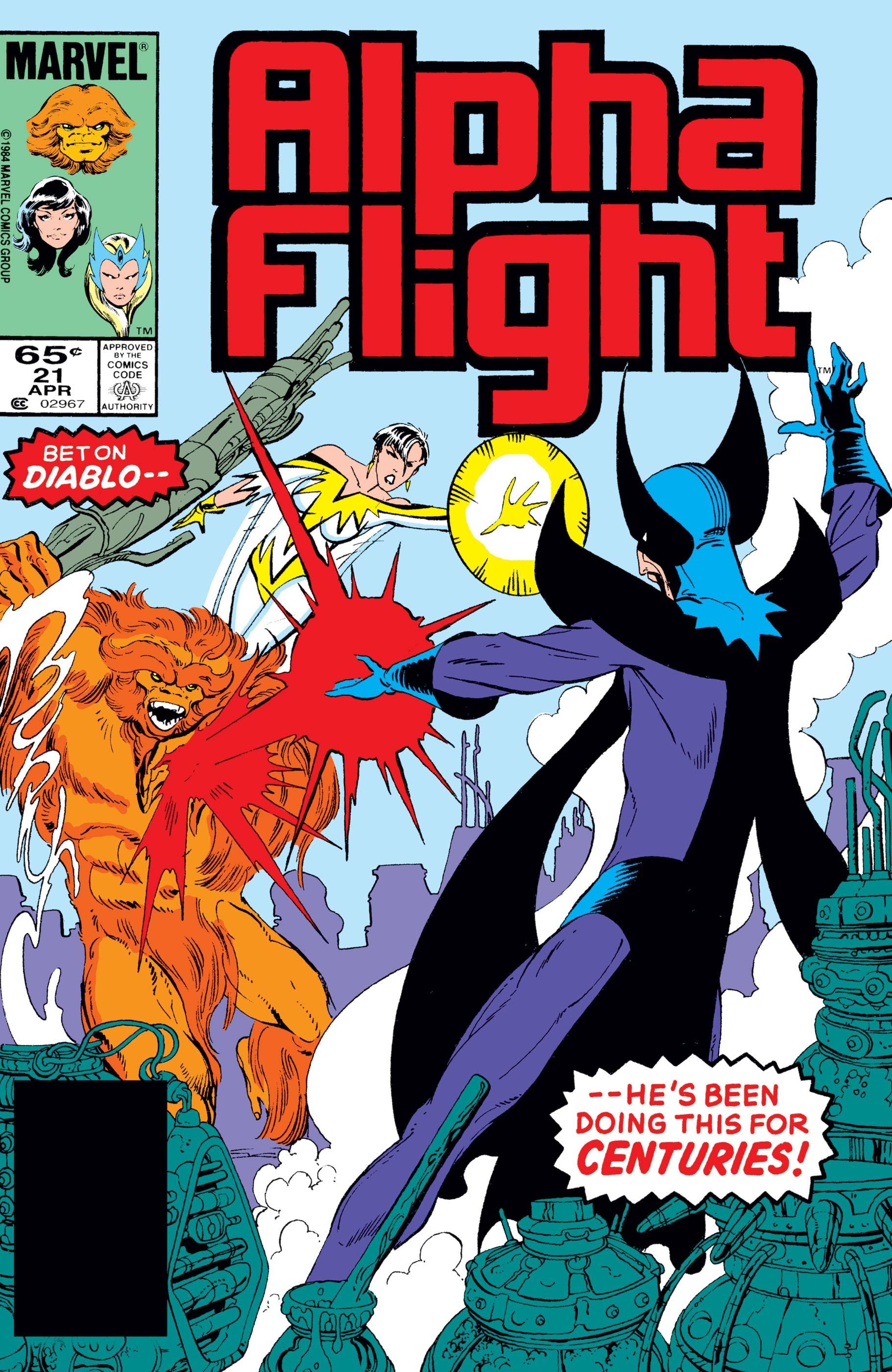 Alpha Flight (1983) #21