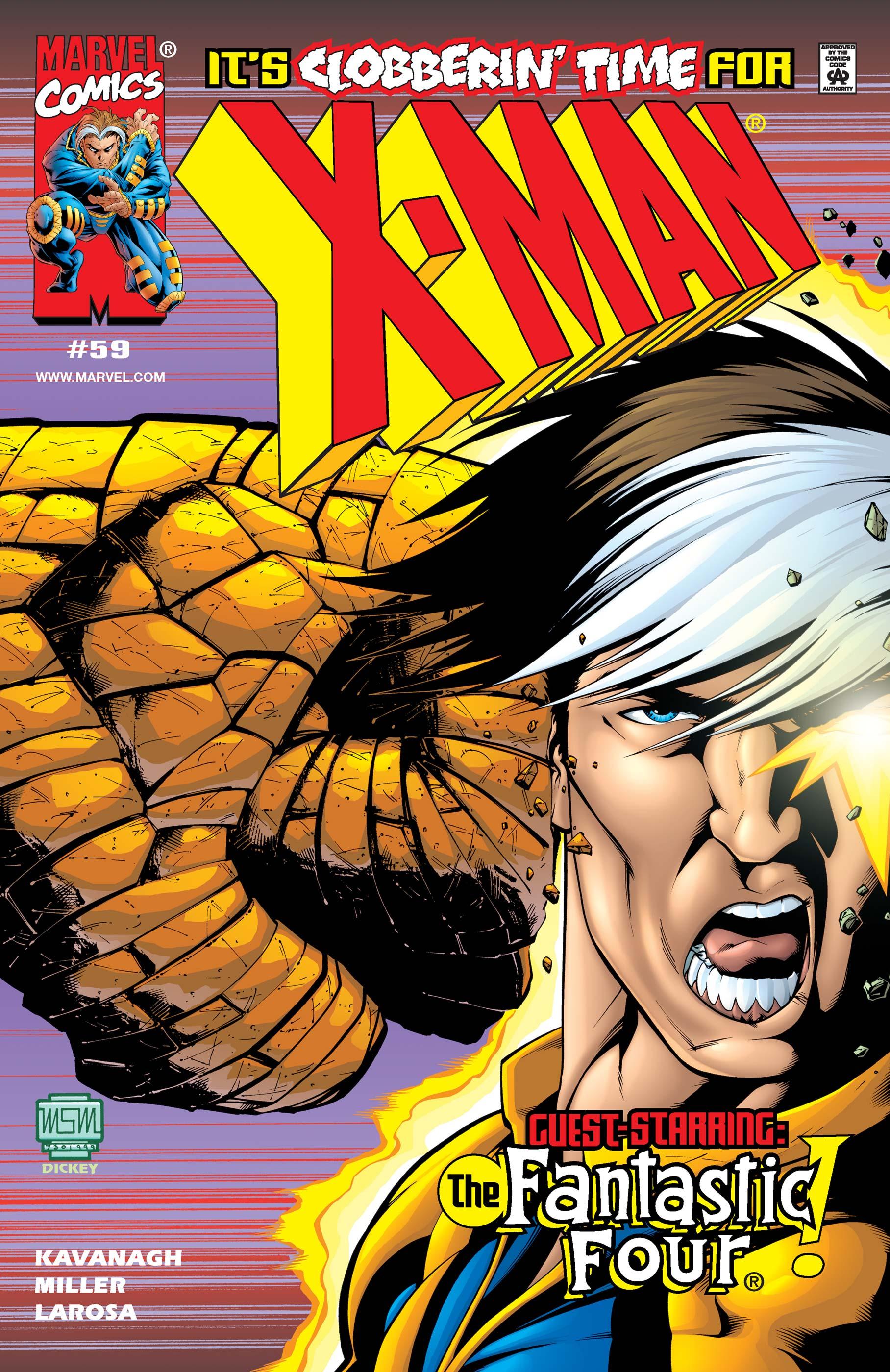 X-Man (1995) #59