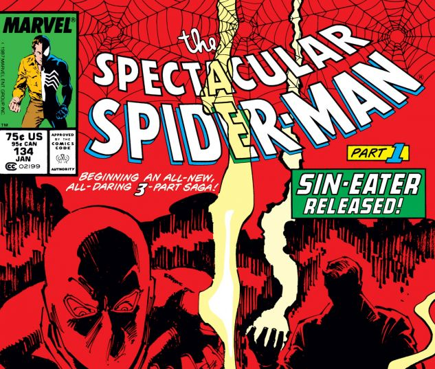 Cover for PETER PARKER, THE SPECTACULAR SPIDER-MAN 134