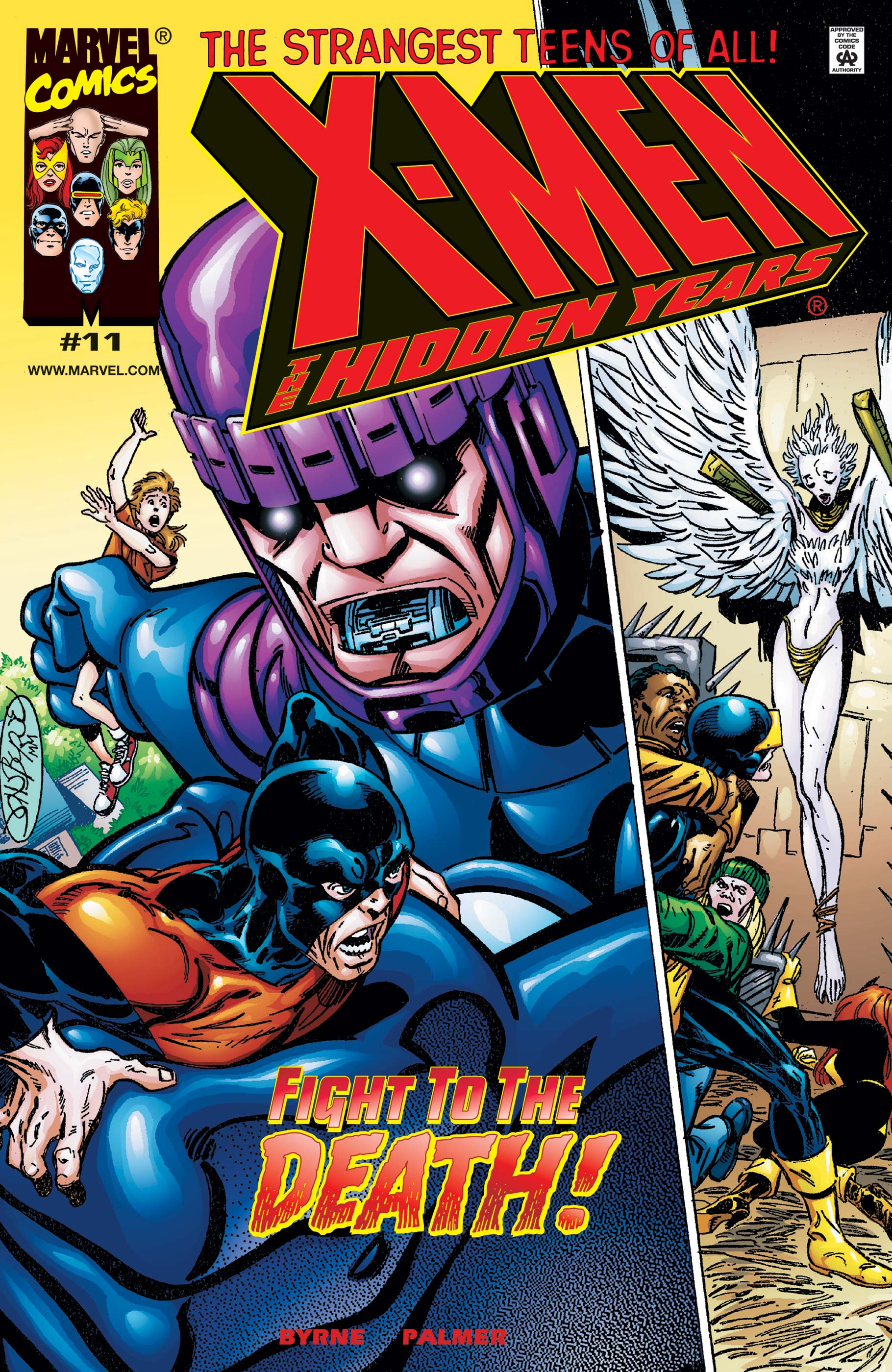 X-Men: The Hidden Years (1999) #11