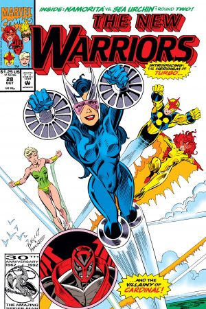 New Warriors (1990) #28