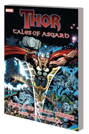 Thor: Tales of Asgard Kirby Cover (DM Only) (Trade Paperback)