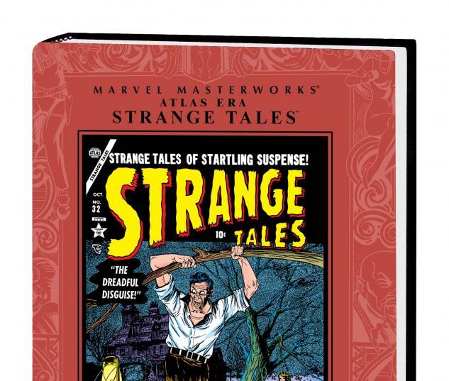 MARVEL MASTERWORKS: ATLAS ERA STRANGE TALES VOL. 4 HC