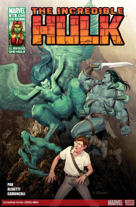Incredible Hulks (2010) #604