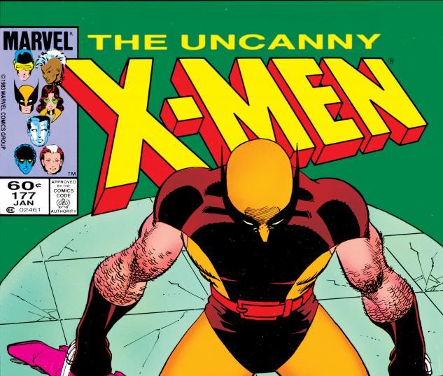 Uncanny X-Men (1963) #177 Cover