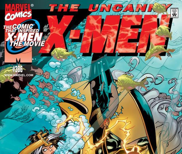 Uncanny X-Men (1963) #386 Cover