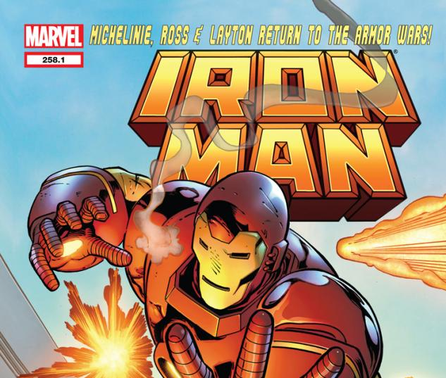 IRON MAN 258.1 (WITH DIGITAL CODE)