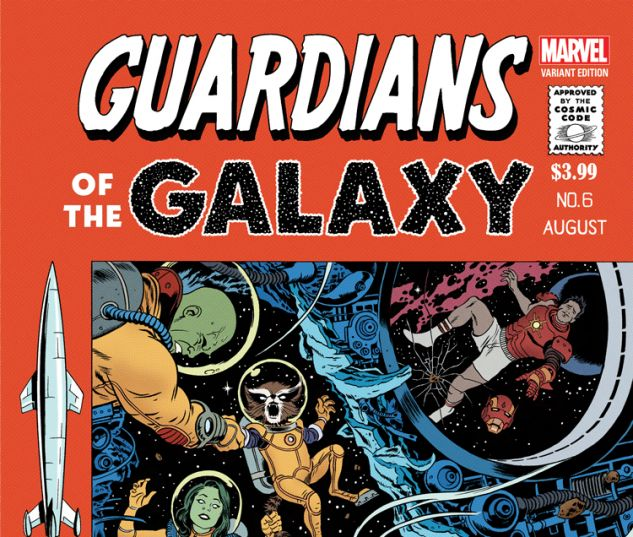 GUARDIANS OF THE GALAXY 6 RIVERA VARIANT (NOW, WITH DIGITAL CODE)