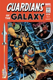 Guardians of the Galaxy (2013) #6 (Rivera Variant)