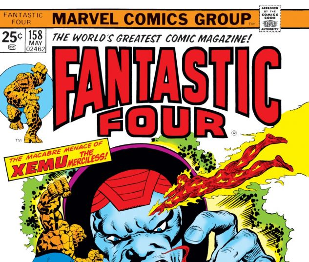 Fantastic Four (1961) #158 Cover