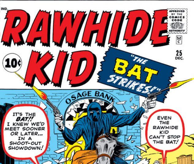 Rawhide Kid (1960) #25 Cover