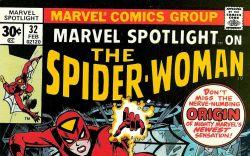 Marvel Spotlight #32 cover