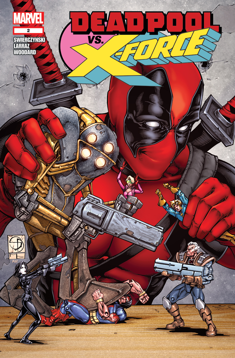 Deadpool Vs. X-Force (2014) #2