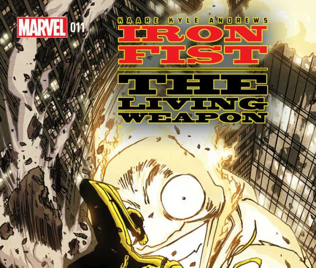 IRON FIST: THE LIVING WEAPON 11 (WITH DIGITAL CODE)