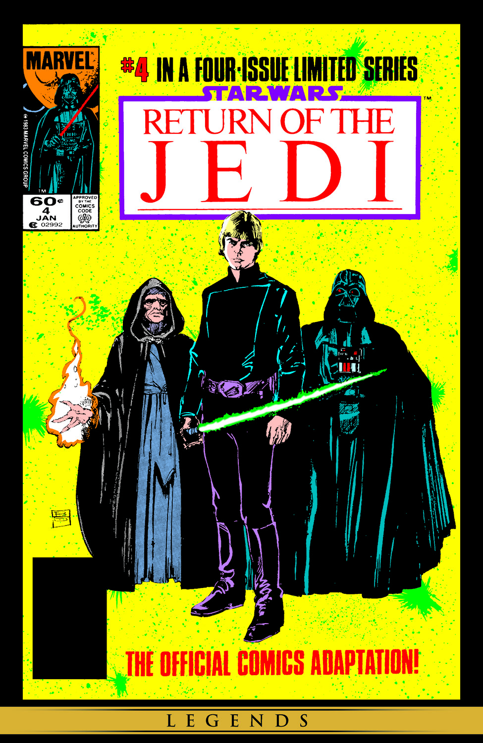 Star Wars: Return of the Jedi (1983) #4